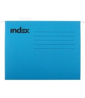 Папка подвесная для картотек Index 310*240 мм, синяя