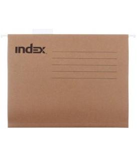 Папка подвесная для картотек Index 310*240 мм, крафт-картон