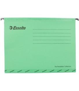 Папка подвесная для картотек Pendaflex Plus Foolscap (без ярлыка) 240*315 мм, 350 мм, зеленая