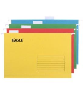 Папка подвесная для картотек Foolscap Eagle 365*240 мм, 405 мм, ассорти