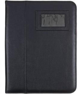 Папка деловая из натуральной кожи «Кинг» 2055 360*240*45 мм, черная
