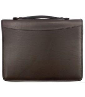 Папка деловая «Кворум» 360*275*30 мм, коричневая