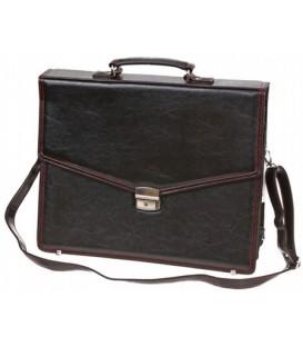 Портфель деловой «Малс» 322 400*320*50 мм, черный