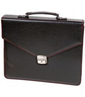 Портфель деловой «Малс» 329 360*290*40 мм, черный