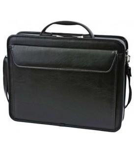Портфель деловой «Паритет» 380*290*60 мм, черный