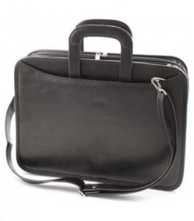 Портфель деловой «Карьера» 380*270*80 мм, черный