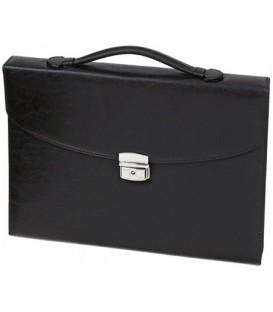 Портфель деловой «Меценат» 370*270 мм, черный