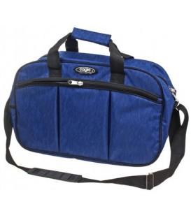 Сумка дорожная на плечо Cagia 460*280*200 мм, синяя