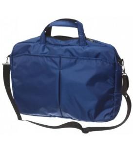 Сумка для ноутбука Versado 304 (диагональ 17 дюймов) 310*435*75 мм, синяя