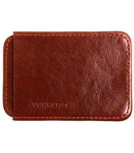 Визитница-футляр из натуральной кожи Versado Б010 65*90*15 мм, коричневый