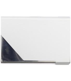 Визитница карманная металлическая Sponsor 65*95 мм, серебристый металлик