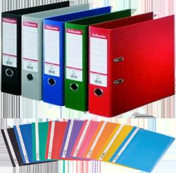 Папки, файлы, портфели, настольные системы хранения