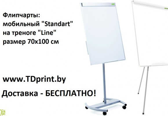 "Флипчарт ""Line"" 70х100 см, Флипчарт ""Standart"" 70х100 см"